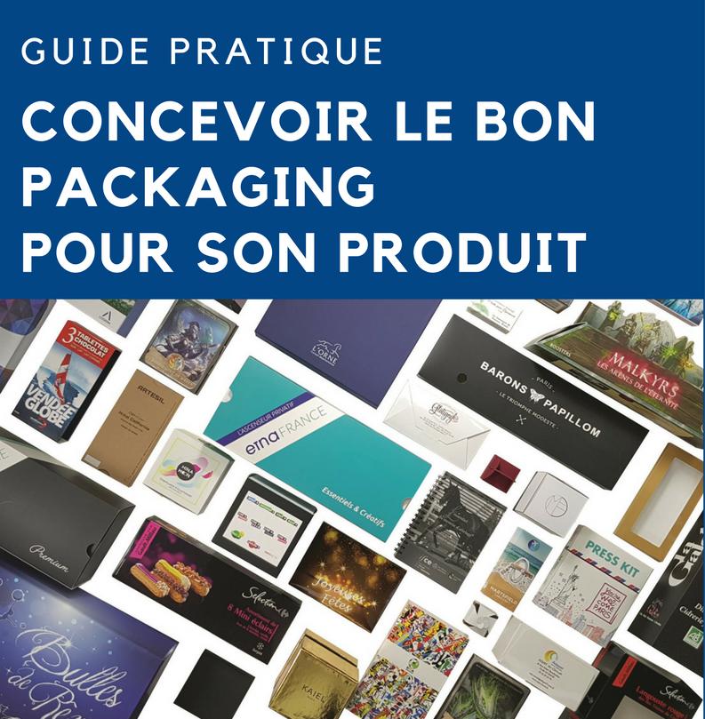 Téléchargez le guide - Concevoir le bon packaging pour son produit